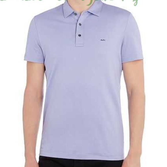 65c9308f Michael Kors Shirts | Mens Purple Polo Shirt | Poshmark